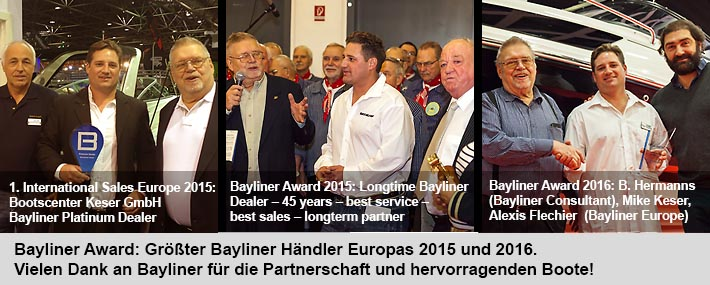 banner bayliner awards 2015 2016